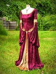 Angelica-012 medieval style dress