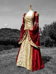 Betony medieval dress