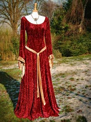 Calendine-013 medieval style dress