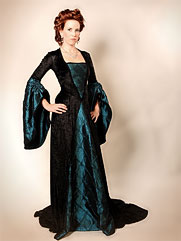 Anemone-012 medieval style gown