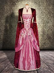 Lily-014 medieval style dress