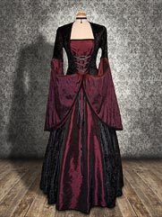 Lily-015 medieval style dress