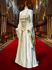 Lily-20 Medieval style gown