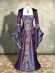 Lily-026 medieval style dress