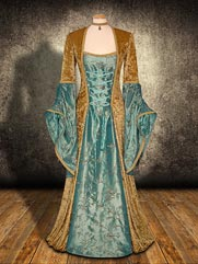 Lily-027 medieval style dress