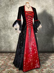 Lily-028 medieval style dress