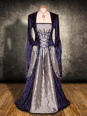 Lily-034 medieval style dress