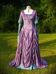 Rose-012 medieval style dress