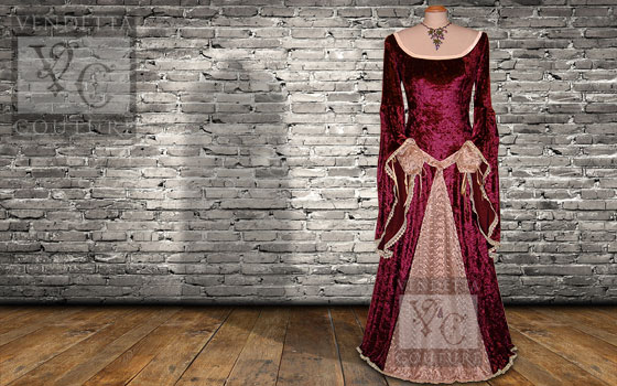 Angelica-021 medieval style dress