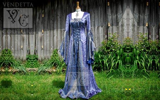 Medieval Gowns and Wedding Gowns