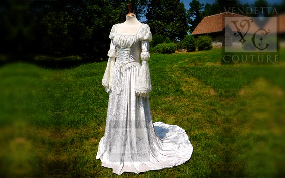 Medieval Bridal Wear And Wedding Gowns