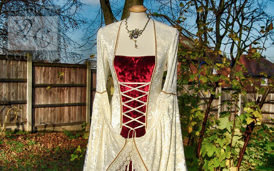 Lily-012 Medieval Style Dress