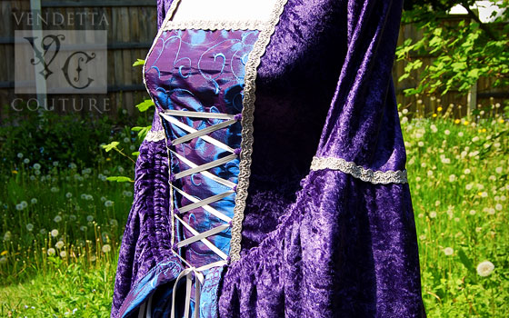 Lily-016 medieval style dress