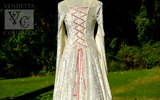 Lily-018 medieval style dress