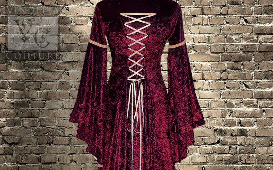 Lily-024 Medieval Style Dress