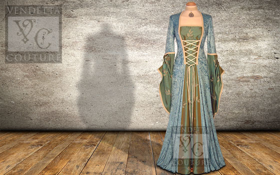 Lily-025 medieval style dress