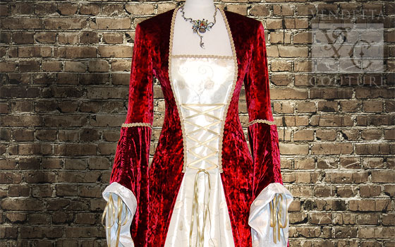 Lily-029 medieval style gown