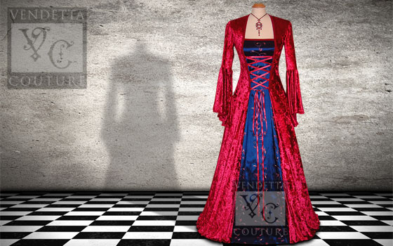 Lily-032 Medieval Style Dress