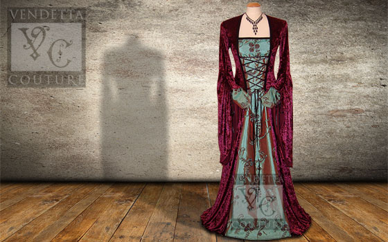 Lily-033 Medieval Style Dress
