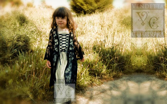 Iris Child-016 vintage style dress