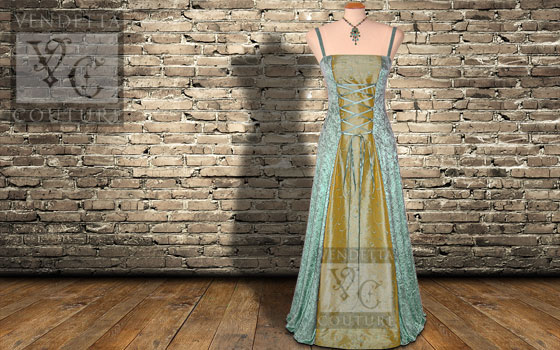 Willow-017 vintage style dress
