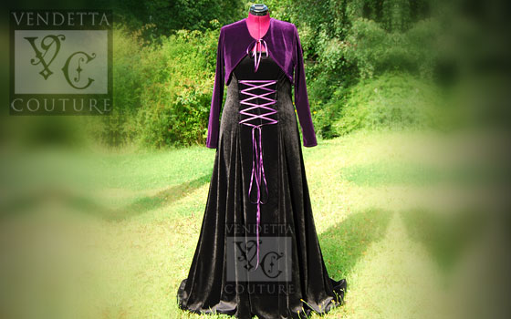 Willow-019 medieval style dress