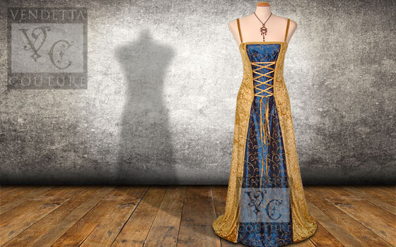 Willow-021 vintage style dress