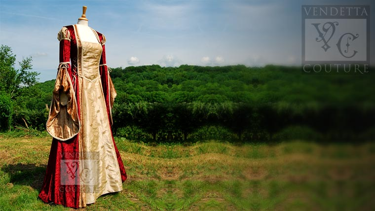 Medieval dresses and gowns UK