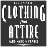Clothing and attire handmade in France
